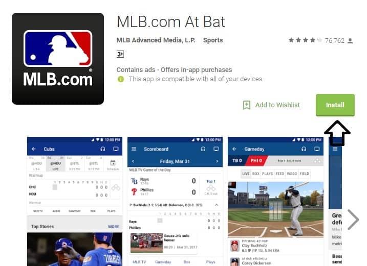 MLB TV App