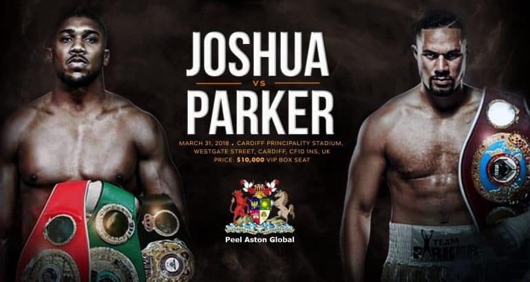 Anthony Joshua and Joseph Parker Fight