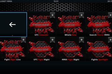 Come installare l'add-on Planet MMA di Kodi