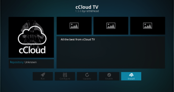 How to Install cCloud Add-On in Kodi