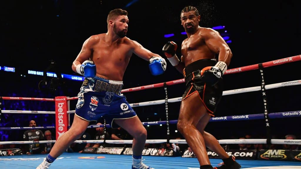 David Haye vs Tony Bellew Fight