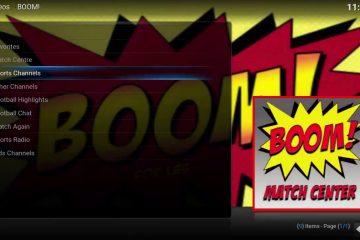Wie du Boom und Boom Gold auf Kodi installierst