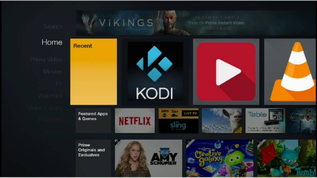 Amazon FireStick Kodi
