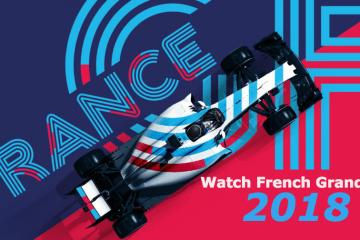 Wie du den Großen Preis von Frankreich anschauen kannst