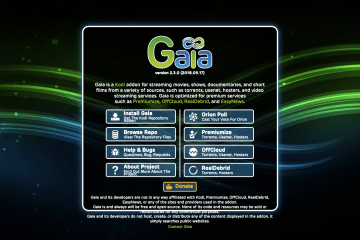 How to Install the Gaia Add-On for Kodi