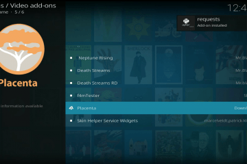 Come Installare l'Add-on Placenta per Kodi