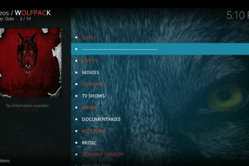 Como instalar o add-on Wolfpack para Kodi