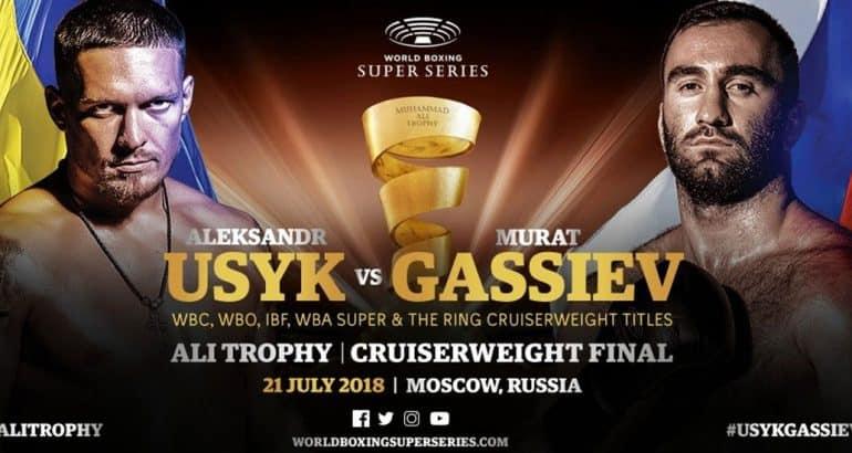 Usyk vs Gassiev WBSS