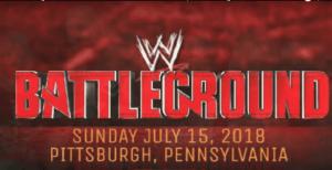 WWE Battleground 15 july