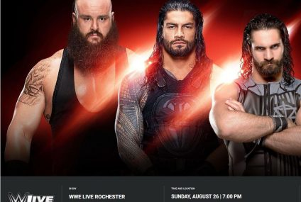 How to Watch WWE Live in Rochester
