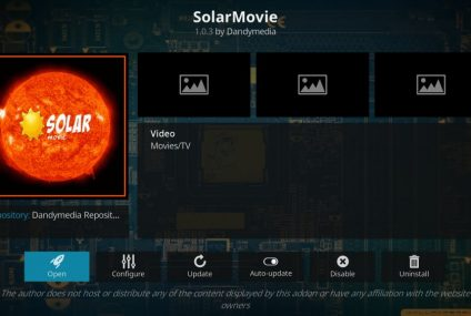 Installing the SolarMovie Add-On on Kodi