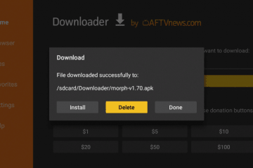 Installer Morph TV APK sur Firestick