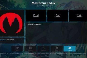 Wie du Masterani Redux auf Kodi installierst