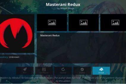 How to Install Masterani Redux on Kodi