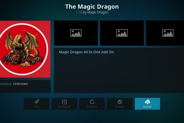 Installer l'add-on pour Kodi Magic Dragon