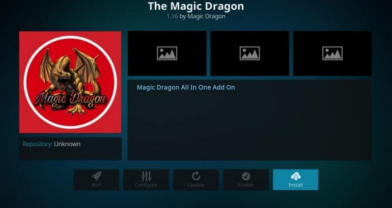 Cóm instalar Magic Dragon Kodi Add-On