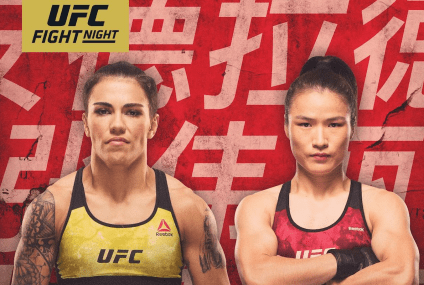 UFC FIGHT NIGHT : ANDRADE VS ZHANG