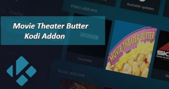 Movie Theater Butter Add-On para Kodi
