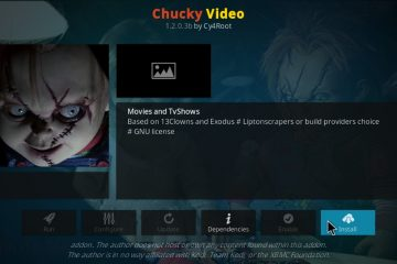 Como instalar o complemento Chucky para Kodi?