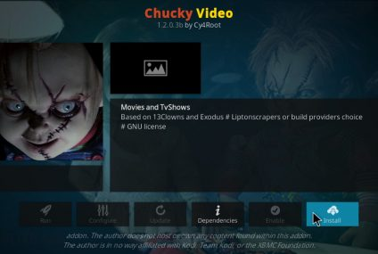 Come installare l'add-on Chucky di Kodi?
