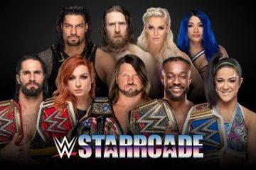 A melhor maneira de assistir à WWE Starrcade