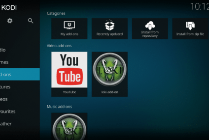 Installare l'Add-on Loki di Kodi