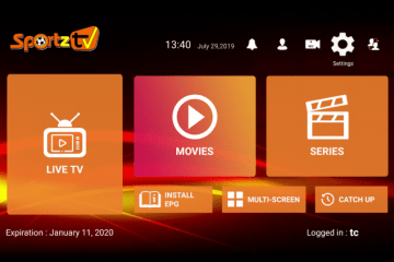 Installer Sportz TV sur Firestick et Android