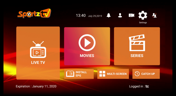 Como instalar o Sportz TV no Firestick e Android