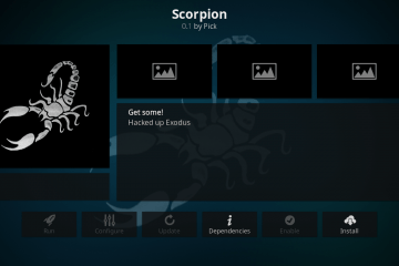Come installare l'add-on Scorpion per Kodi nel 2020