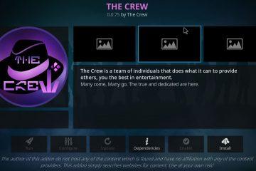 Das The Crew All-in-One Kodi Add-On
