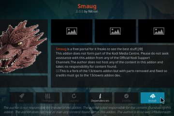 Installer l'add-on Kodi Smaug en 2020