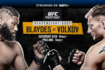 Melhor Complemento para assistir UFC Fight Night Blaydes Vs. Volkov