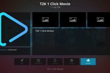 Nouveau Guide par à pas pour installer l'add-on Kodi T2K 1 Click Movie (MAJ 2020)