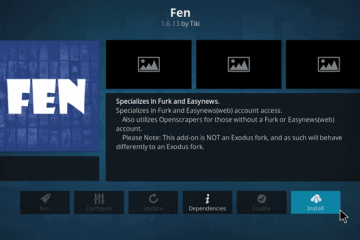 Como Instalar o Complemento FEN no Kodi? (Fire Stick, Fire TV e Android TV Box)